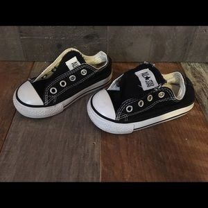 Used Black And White Converse Shoes